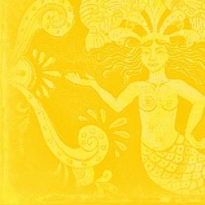 Grand Mermaids-Yellow