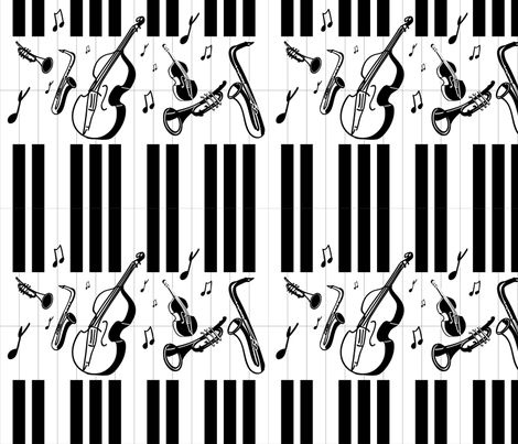Jazz It Up fabric by baleandtwine on Spoonflower - custom fabric