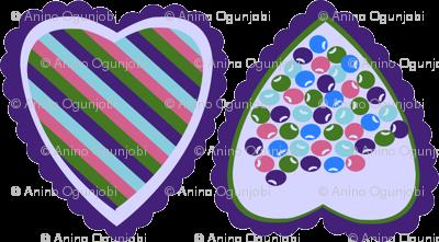 layered scallop_hearts beads