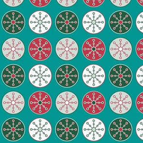 Christmas Snowflake Circles (Festive)