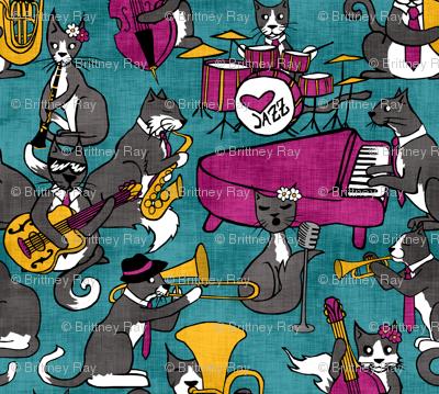 Tuxedo Cat Jazz