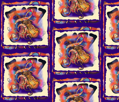 JAZZ OVER JAZZ fabric by paysmage on Spoonflower - custom fabric