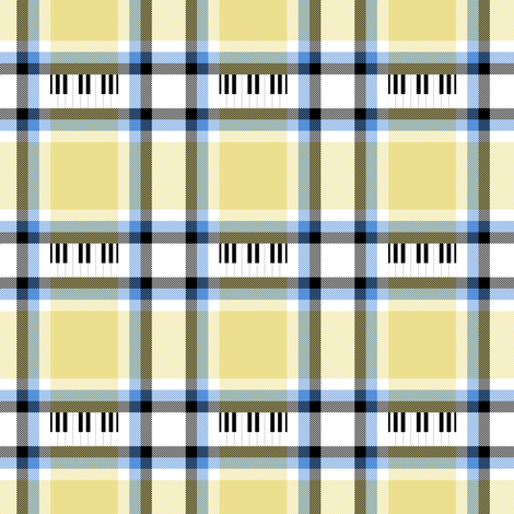 Jazz plaid by Su_G fabric by su_g on Spoonflower - custom fabric