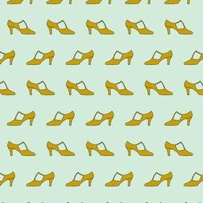 Yellow shoe