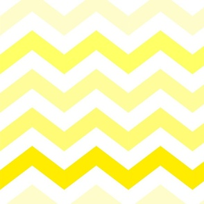 Ombre Yellow Chevron