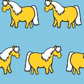 Pudgie Ponies