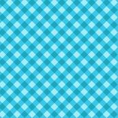 Blue cross check pattern