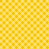 Yellow cross check pattern