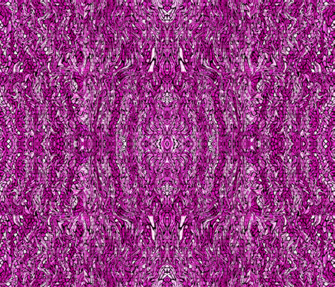 Magenta Crocodile fabric by anniedeb on Spoonflower - custom fabric