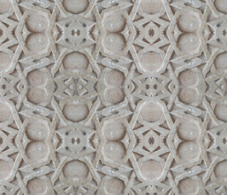 Ulu Camii Carved Stone fabric by dinky's on Spoonflower - custom fabric
