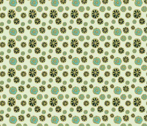 Small Whirl Sweetfern fabric by gollybard on Spoonflower - custom fabric