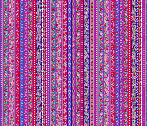 Matryoshka stripe fabric by minimiel on Spoonflower - custom fabric