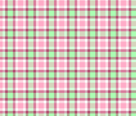 dusky berry plaid