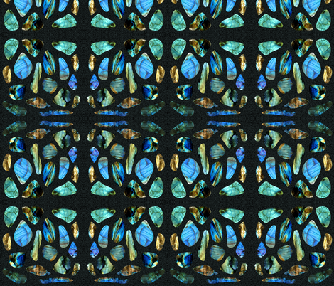 Labradorite Tile fabric by swade on Spoonflower - custom fabric