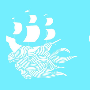 SHIP in blue