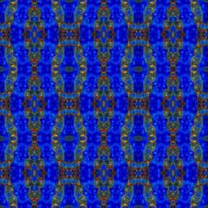 Geometric Blues: Bracelet Chains