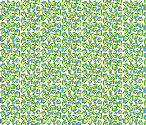 Geometric Trilliant fabric by elleenne on Spoonflower - custom fabric