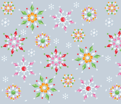 Sparklers fabric by amybiggers on Spoonflower - custom fabric