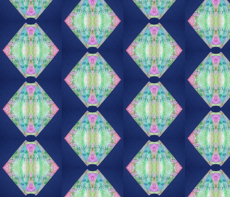 Tissue Tye Dye Repeated