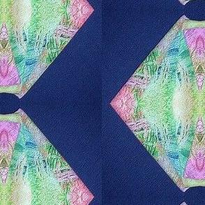 Tissue Tye Dye Repeated