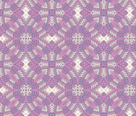 Bargello design3 fabric by koalalady on Spoonflower - custom fabric