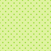 Green polka dot pattern