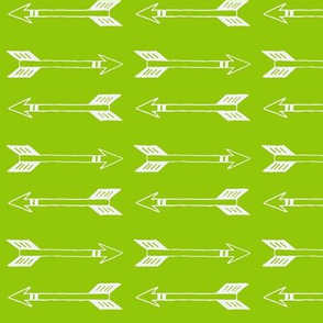 Lime Green Arrows