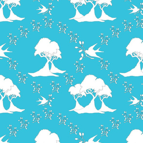 blue_birds toile