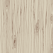 woodgrain in dark brown on light beige