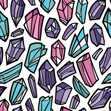 A Bit of Sparkle fabric by smashworks on Spoonflower - custom fabric