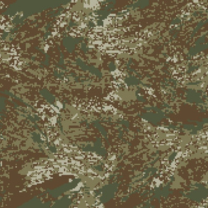 Universal Multicam Digital Brush Camo