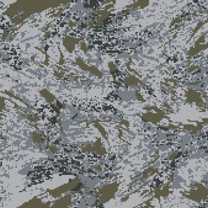 Urban Digital Brush Camo