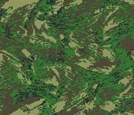 Woodland Temperate Digital Brush Camo fabric by ricraynor on Spoonflower - custom fabric