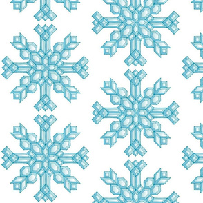 Diamond Snowflakes