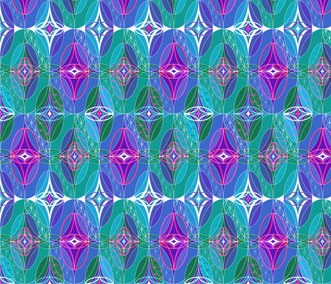 Hidden_Gems fabric by paula's_designs on Spoonflower - custom fabric