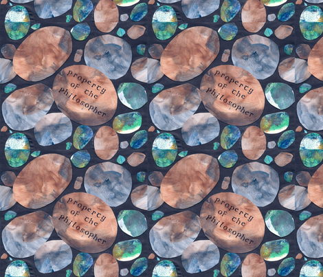 Philosophers Stone 2 fabric by timaroo on Spoonflower - custom fabric