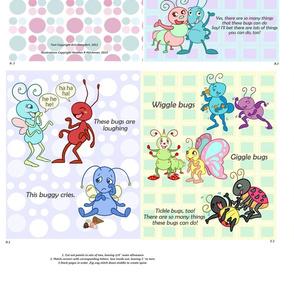 Wiggle Bugs Giggle Bugs Soft Book