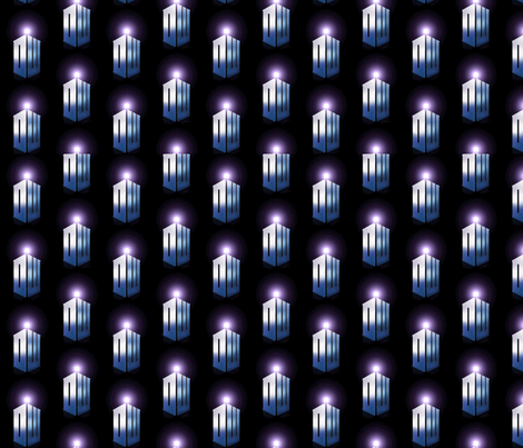 dr_who_logo fabric by sweetnsassygal on Spoonflower - custom fabric