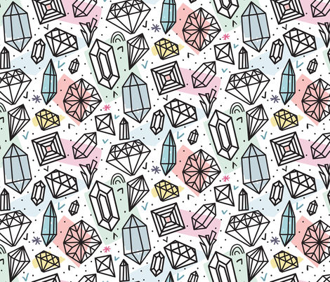 Be glossy fabric by demigoutte on Spoonflower - custom fabric