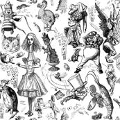 Wonderland's Not Pretty Black and White