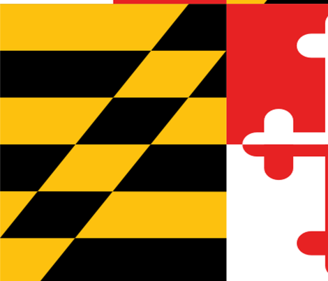 Maryland flag - two flags fill 58 x 36 inches fabric by gennakranitz on Spoonflower - custom fabric