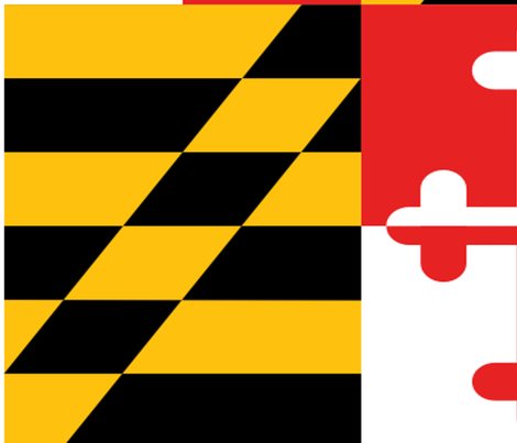 maryland flag fabric by gennakranitz on Spoonflower - custom fabric