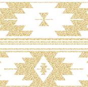 gold glitter kilim