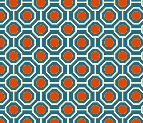 Nautica Medium fabric by brainsarepretty on Spoonflower - custom fabric