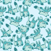 Glaceon All  by Emma Fisher