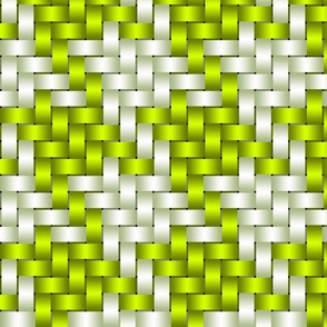 Big Honking Lime Green Houndstooth