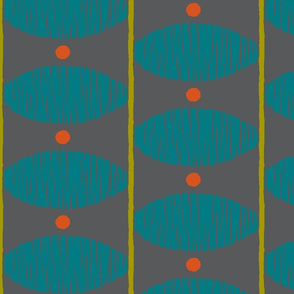 dd stripe-grey/teal