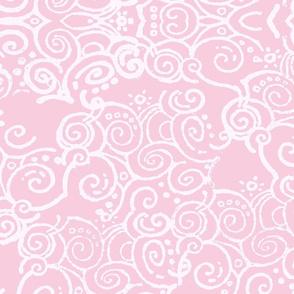 curl of smoke pink