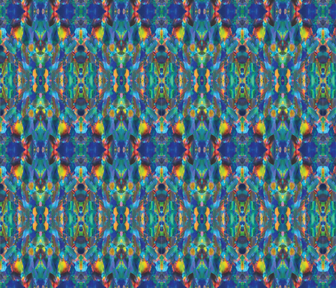 psychedelic_opal fabric by pystruyovitch on Spoonflower - custom fabric