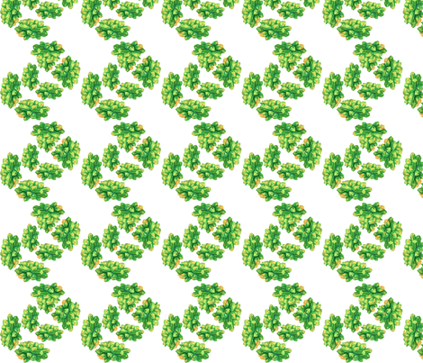 Geode-Vertical-Zig-Zag-Green fabric by 3l on Spoonflower - custom fabric